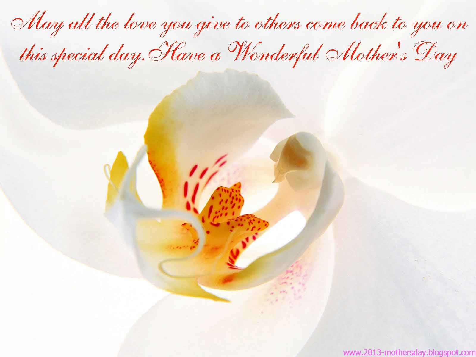 Mothers Day 2013 desktop HD Wallpapers 1600x1200