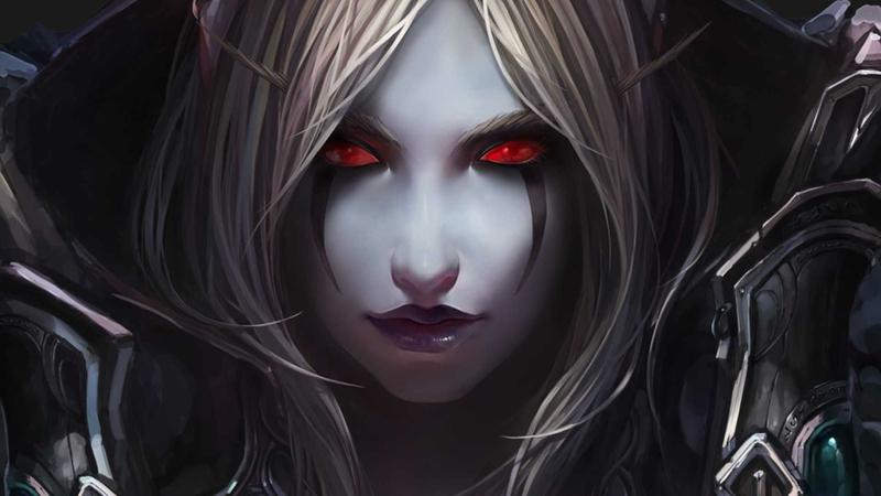dark elf the stare Video Games World of Warcraft HD Wallpaper 800x450