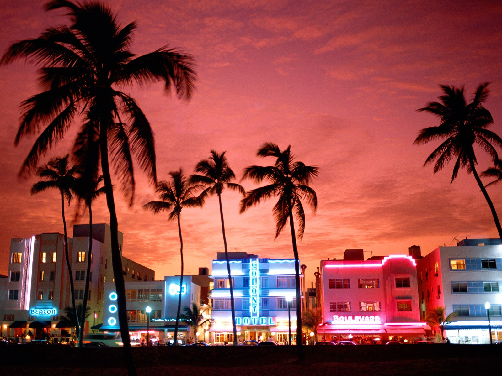 South Beach MiamiFlorida Computer Wallpapers Desktop Backgrounds 1600x1200