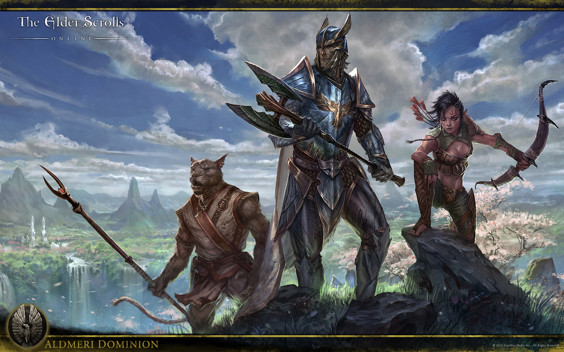 The Elder Scrolls Online Wallpaper Concept Art Concept Art World 1920x1200