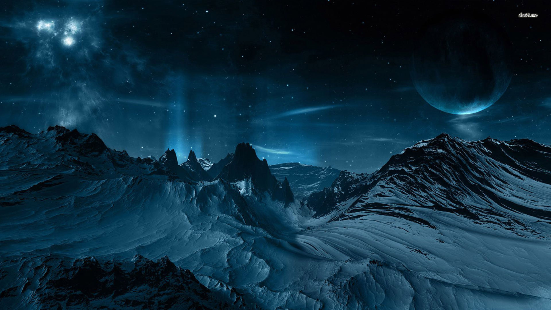 Night Sky HD wallpapers 1920x1080