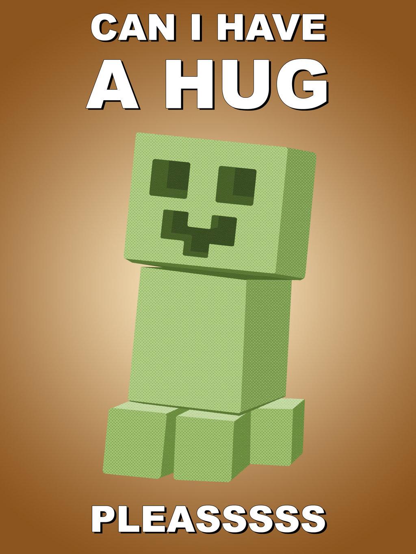 Cute Creeper Minecraft Wallpaper By Thehookshot 1024x1365