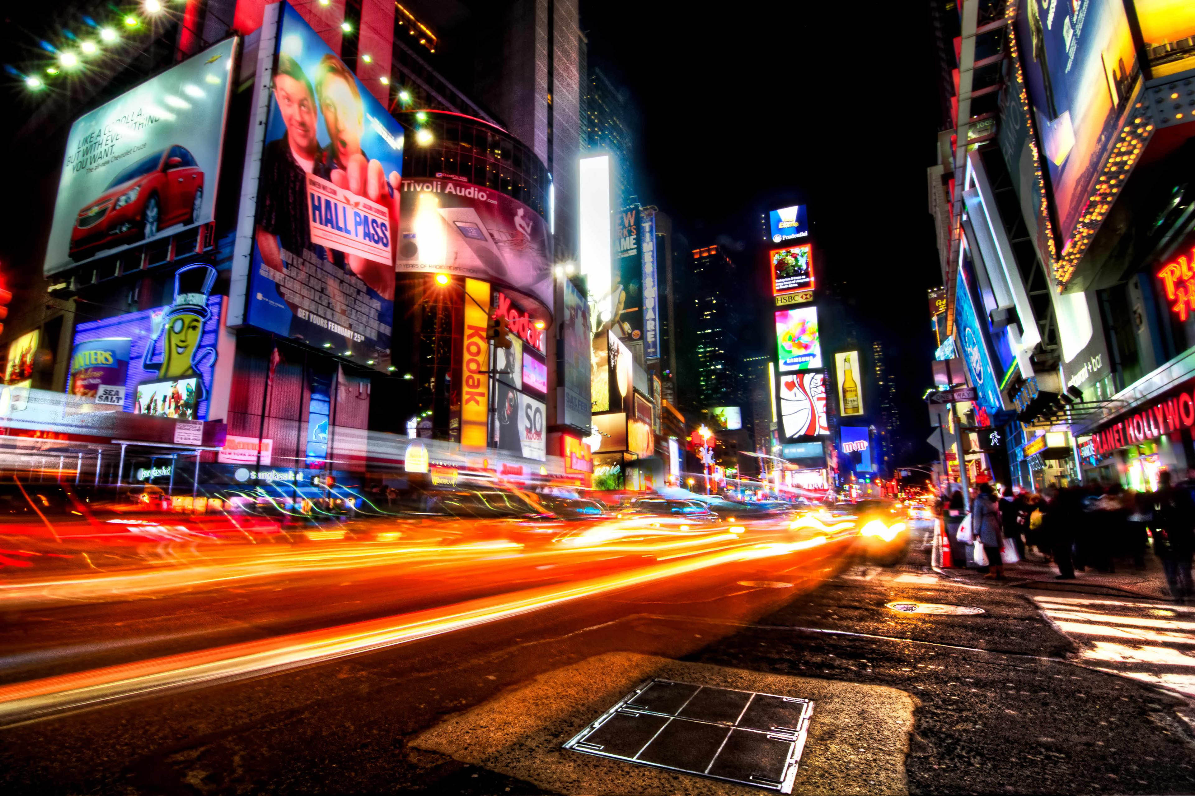 70+ Times Square Wallpaper on WallpaperSafari