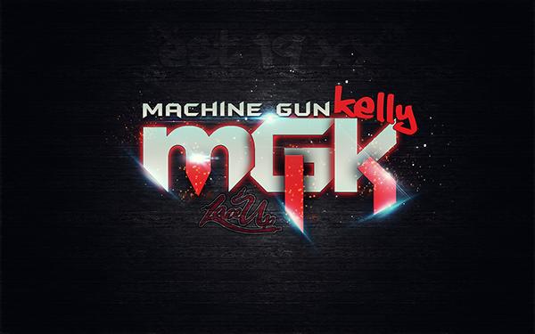 Machine Gun Kelly EST19XX Wallpaper on Behance 600x375
