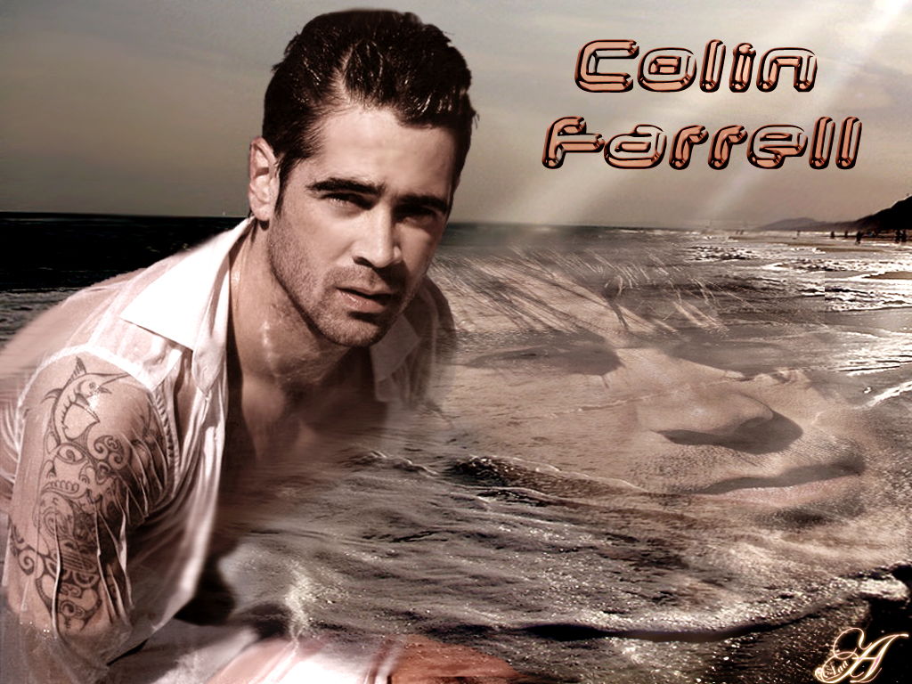 Colin Farrell Son James Angelman Syndrome   wallpaper 1024x768