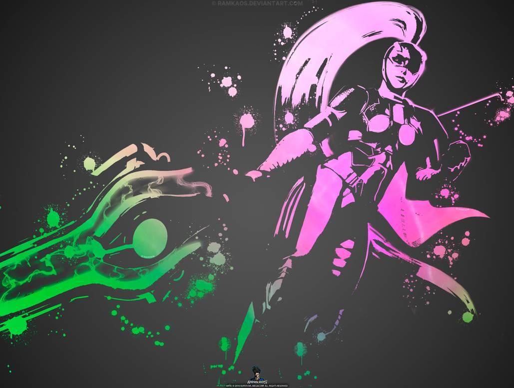 Wallpaper Kinetic Enforcer Colors   VG   iPad by RamKaos 1029x777