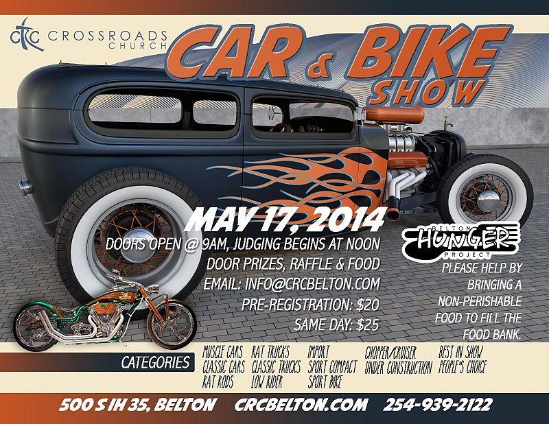 Gauge Magazine CTC Crossroads Church Car Bike Show 800x618