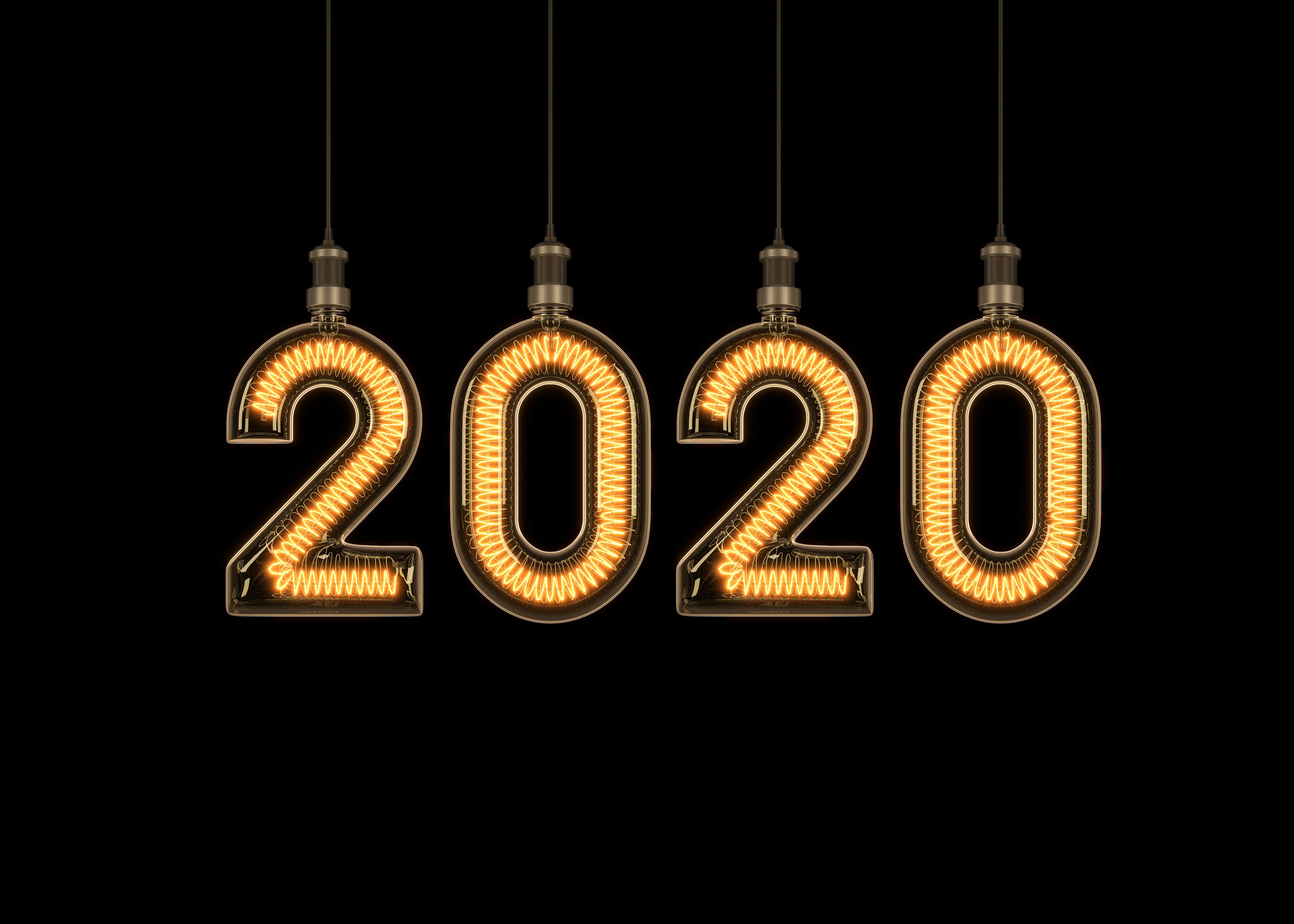 New Year 2020 4k Ultra HD Wallpaper Background Image 5000x3570 5000x3570