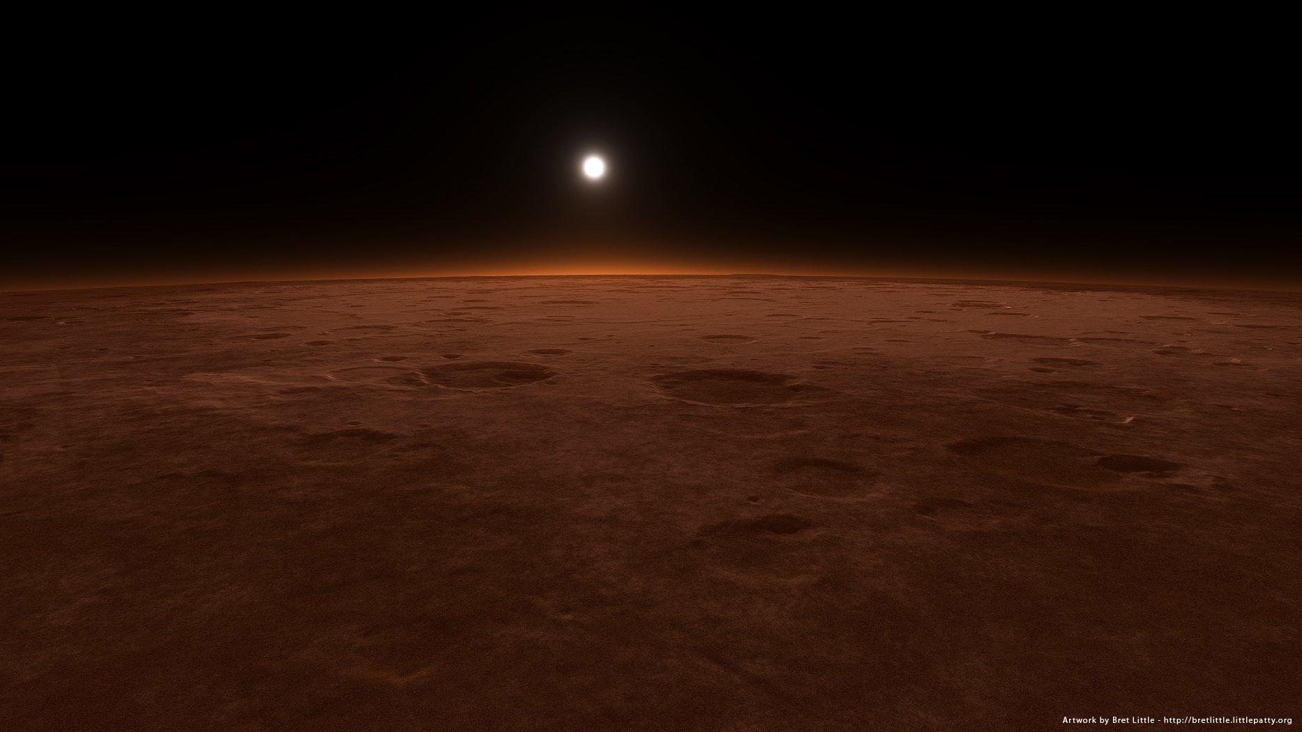 Mars surface wallpaper - Space wallpapers - Free wallpapers, Desktop ...