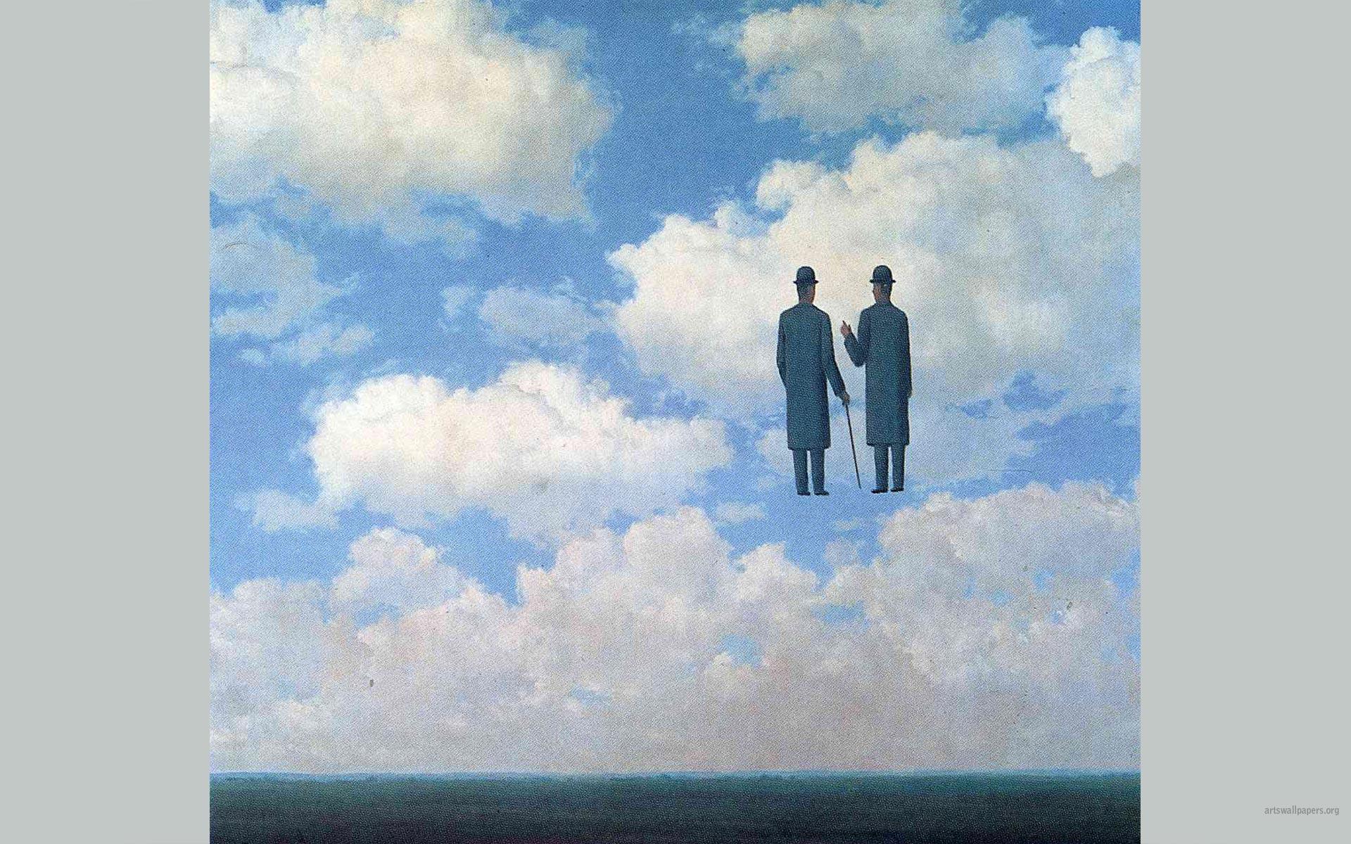 Magritte Wallpaper Paintings Art Wallpaper Desktop Art Wallpapers 1920x1200