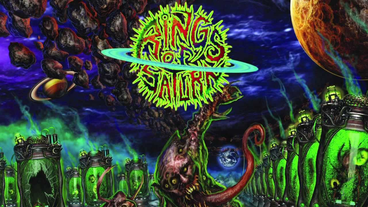 rings of saturn band wallpaper wallpapersafari
