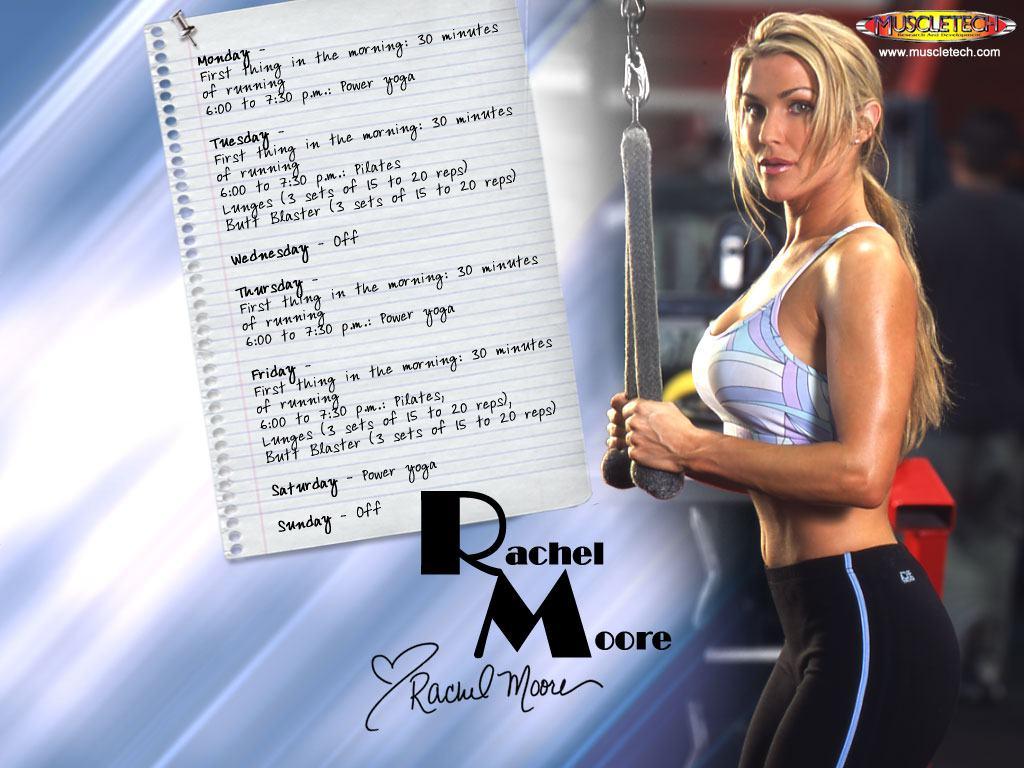 Celebrities Girls Rachel Leah Moore Female Fitness Model Wallpaper 1024x768