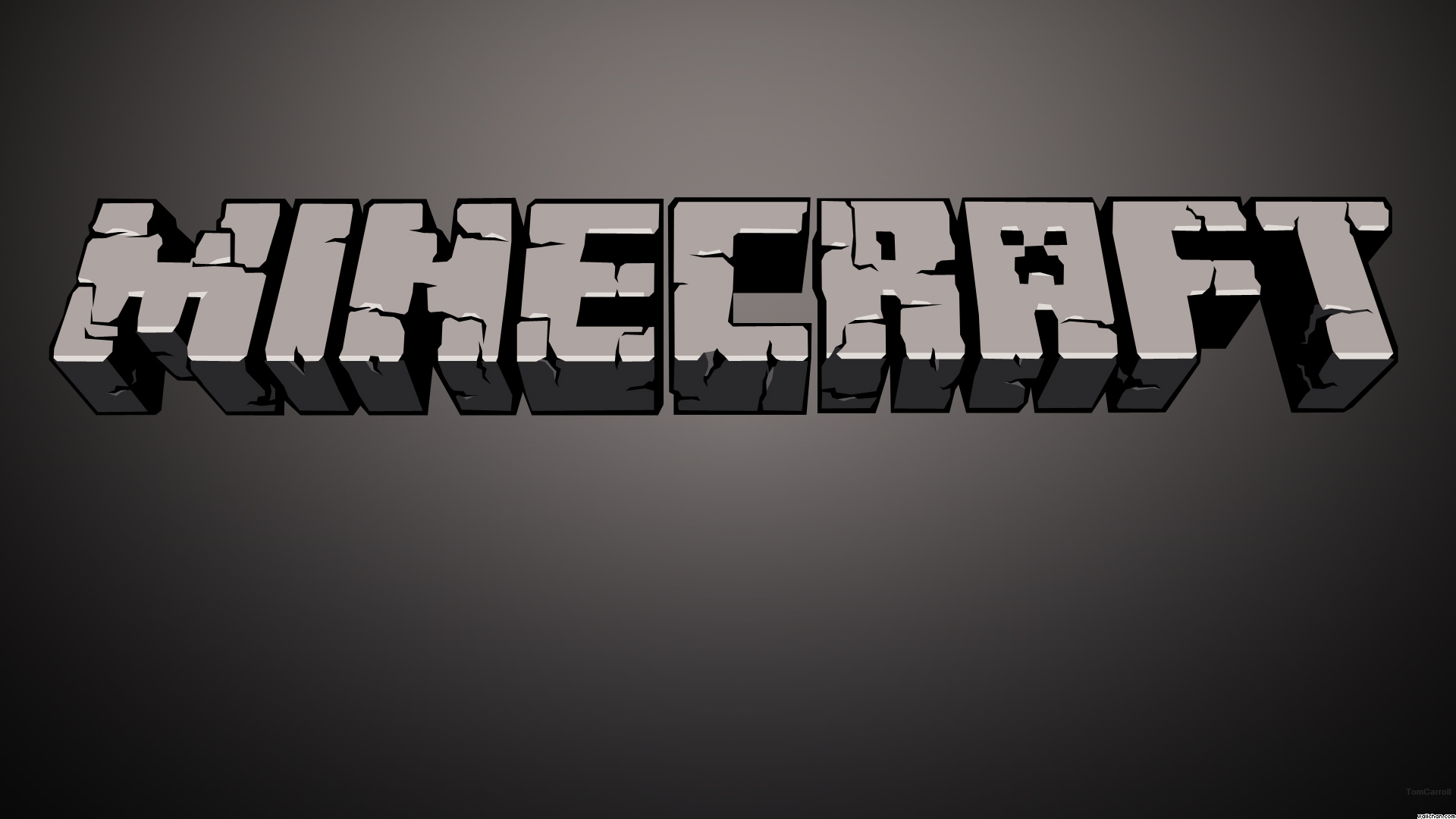 Minecraft Title Wallpaper   Minecraft Wallpaper 39645298 1920x1080