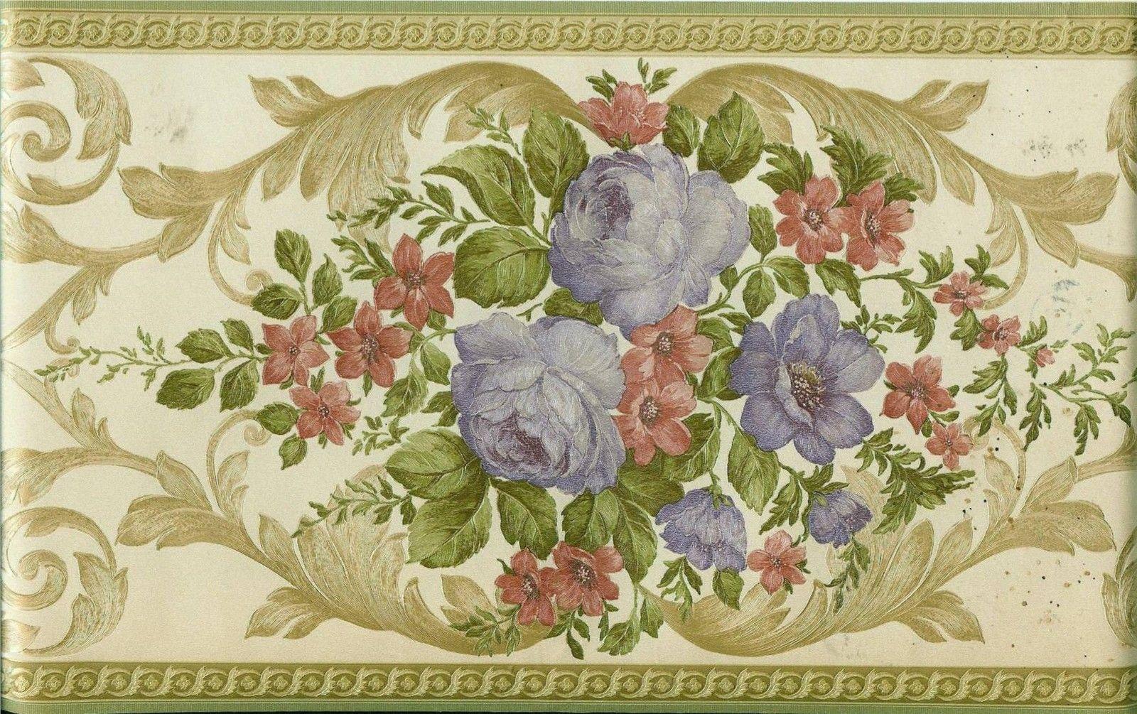 39 Elegant Victorian Wallpaper Borders On Wallpapersafari