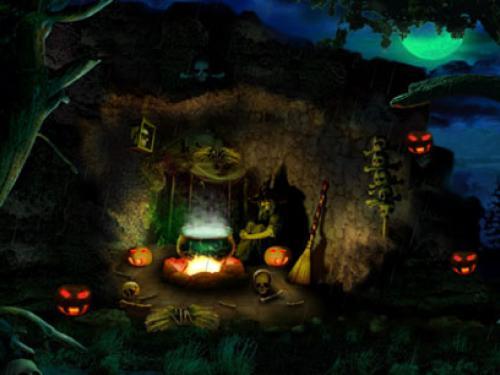 Halloween Computer Wallpaper 500x375