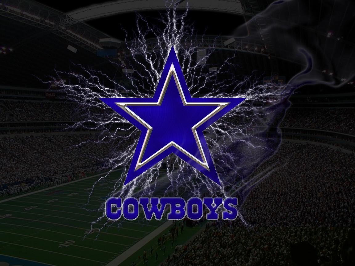 Lighting Dallas Cowboys Logo Wallpaper HD Background Wallpapers 1152x864