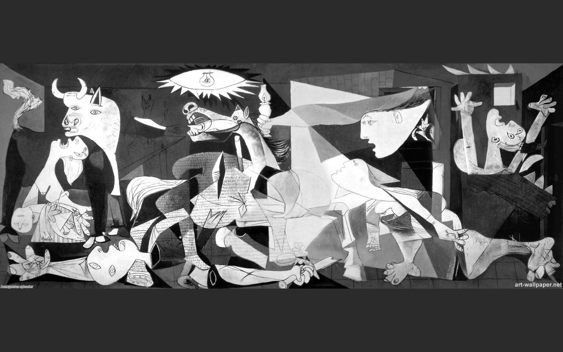 Guernica Wallpaper Art Painting Wall Art Pablo Picasso Wallpaper 1920x1200