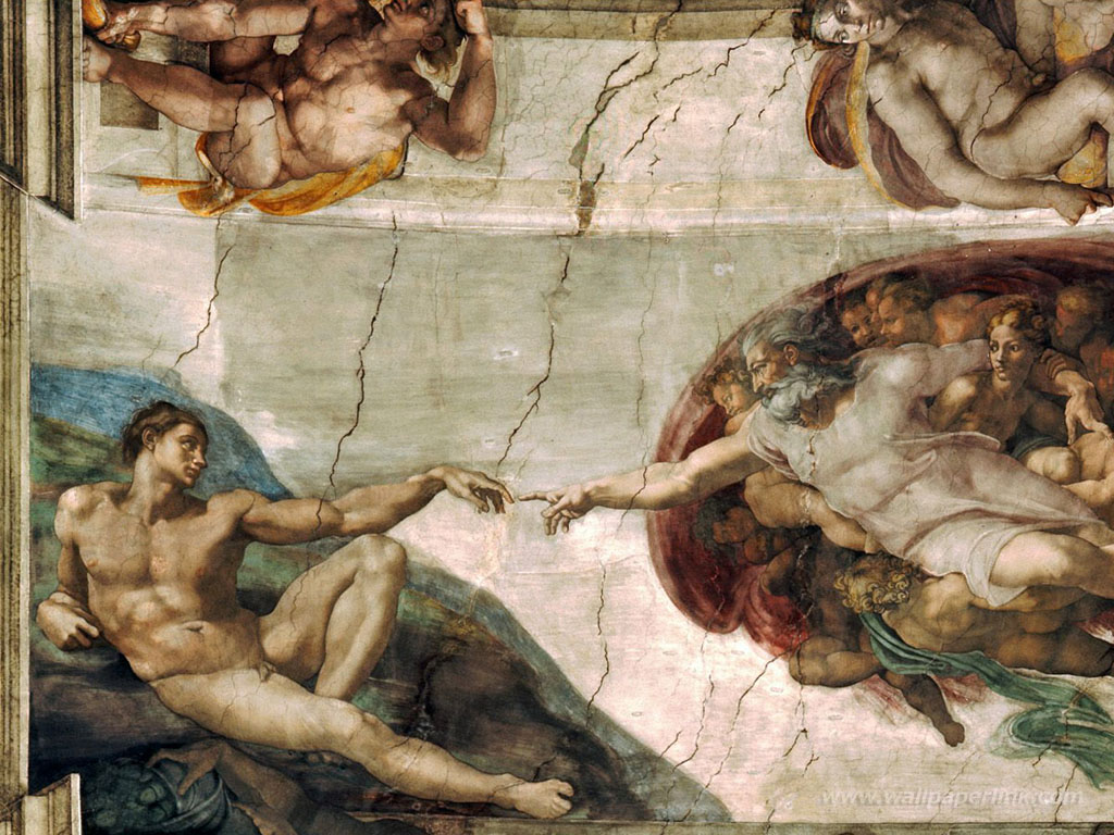 Download Sistine Chapel Ceiling WALLPAPER [1024x768] 47 Sistine 1024x768