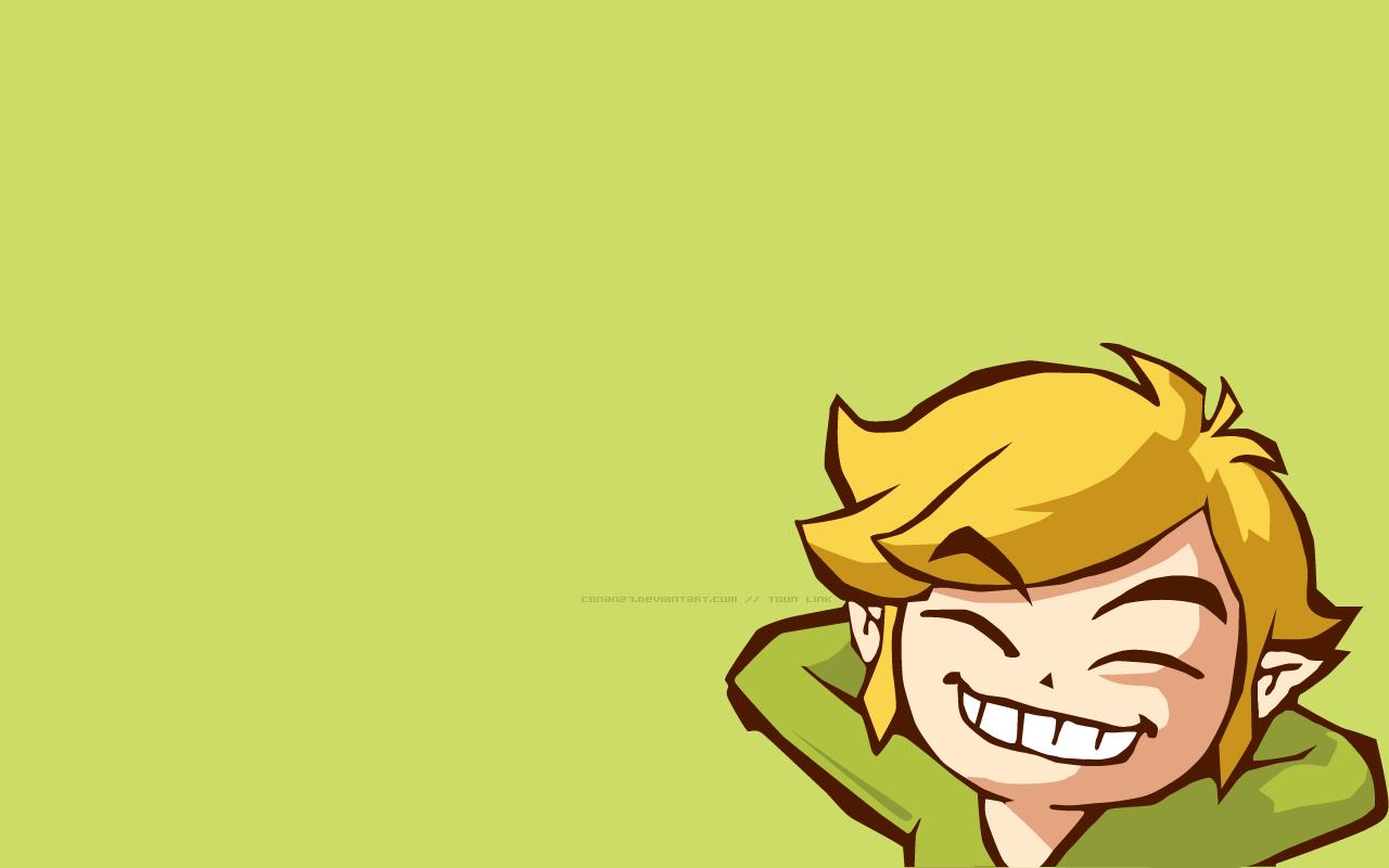 Link Toon Wallpaper 1280x800 Link Toon The Legend Of Zelda 1280x800