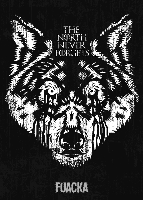 The North Never Forgets by Fuacka 500x700