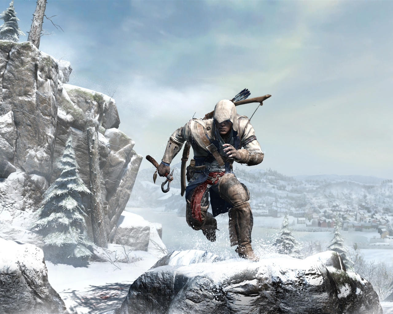 Assassins Creed 3 wide Wallpaper 1280x1024 resolution wallpaper 1280x1024