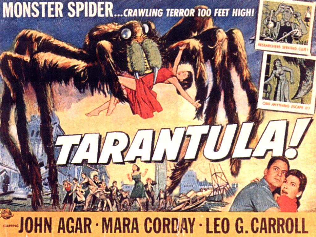 Tarantula   Classic Science Fiction Films Wallpaper 1024879 1024x768