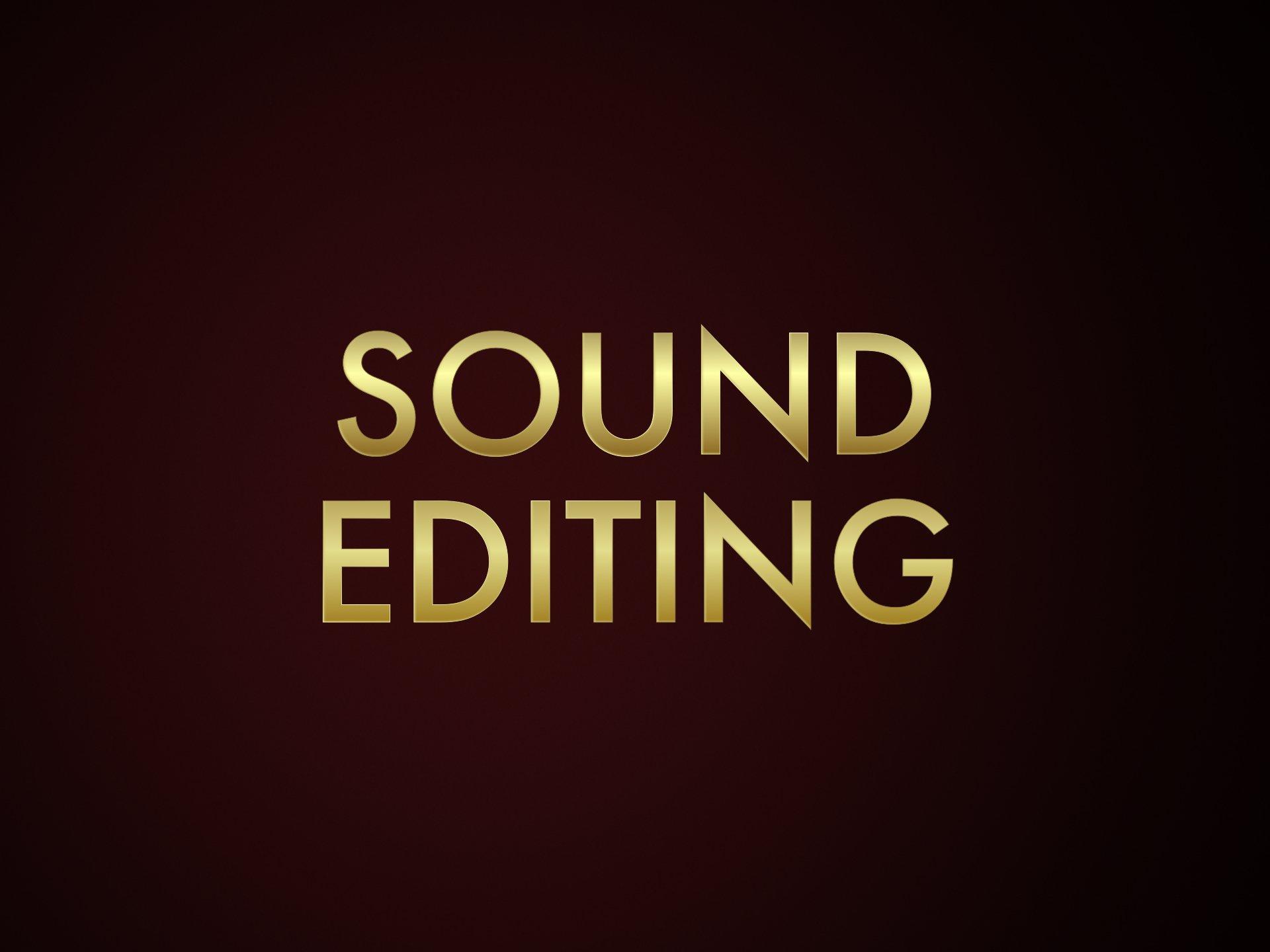 Sound Editing Oscar Nominations 2020   Oscars 2020 News 92nd 1920x1440