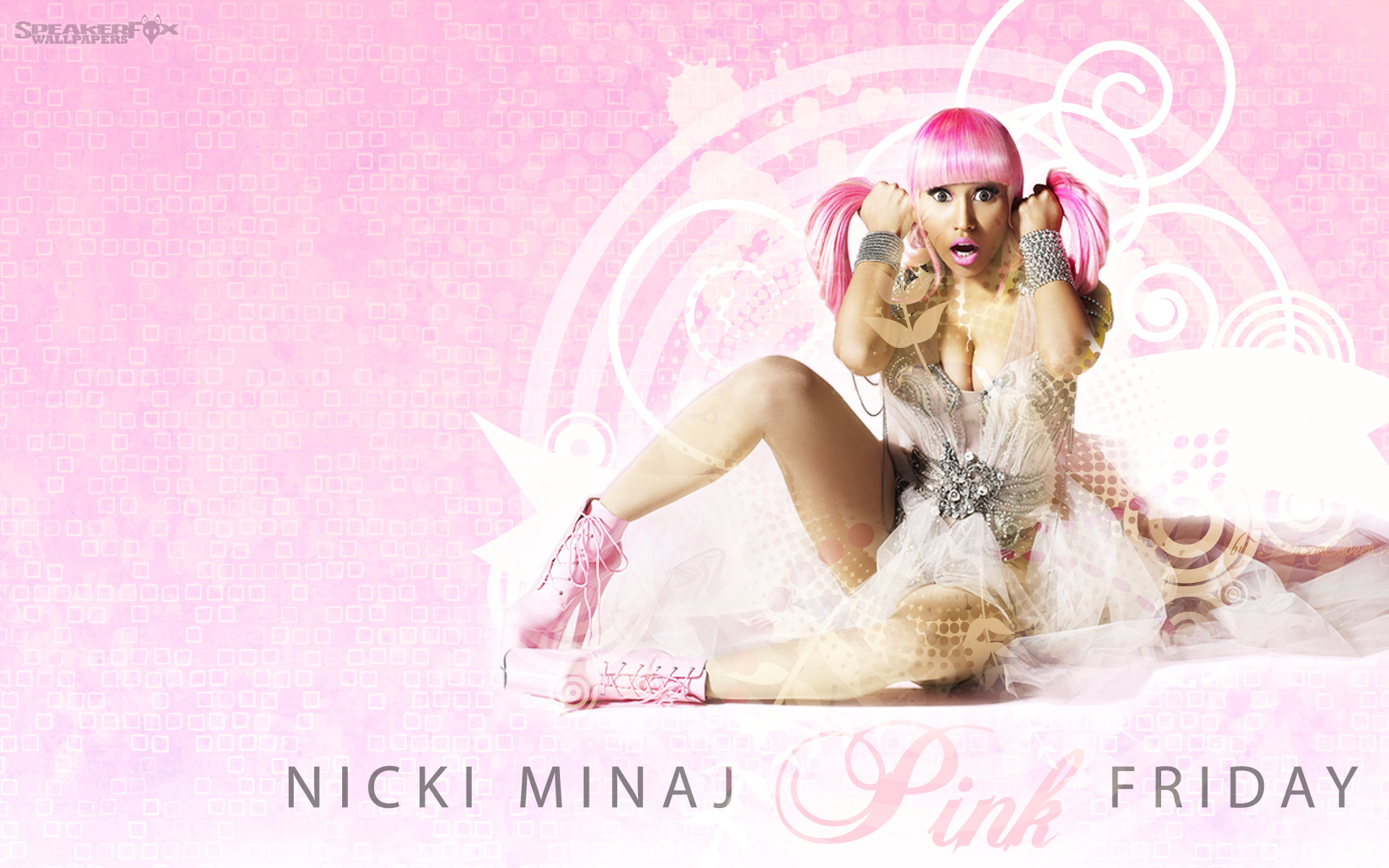 Nicki Minaj Pink Friday Nicki minaj pink friday 1920x1200