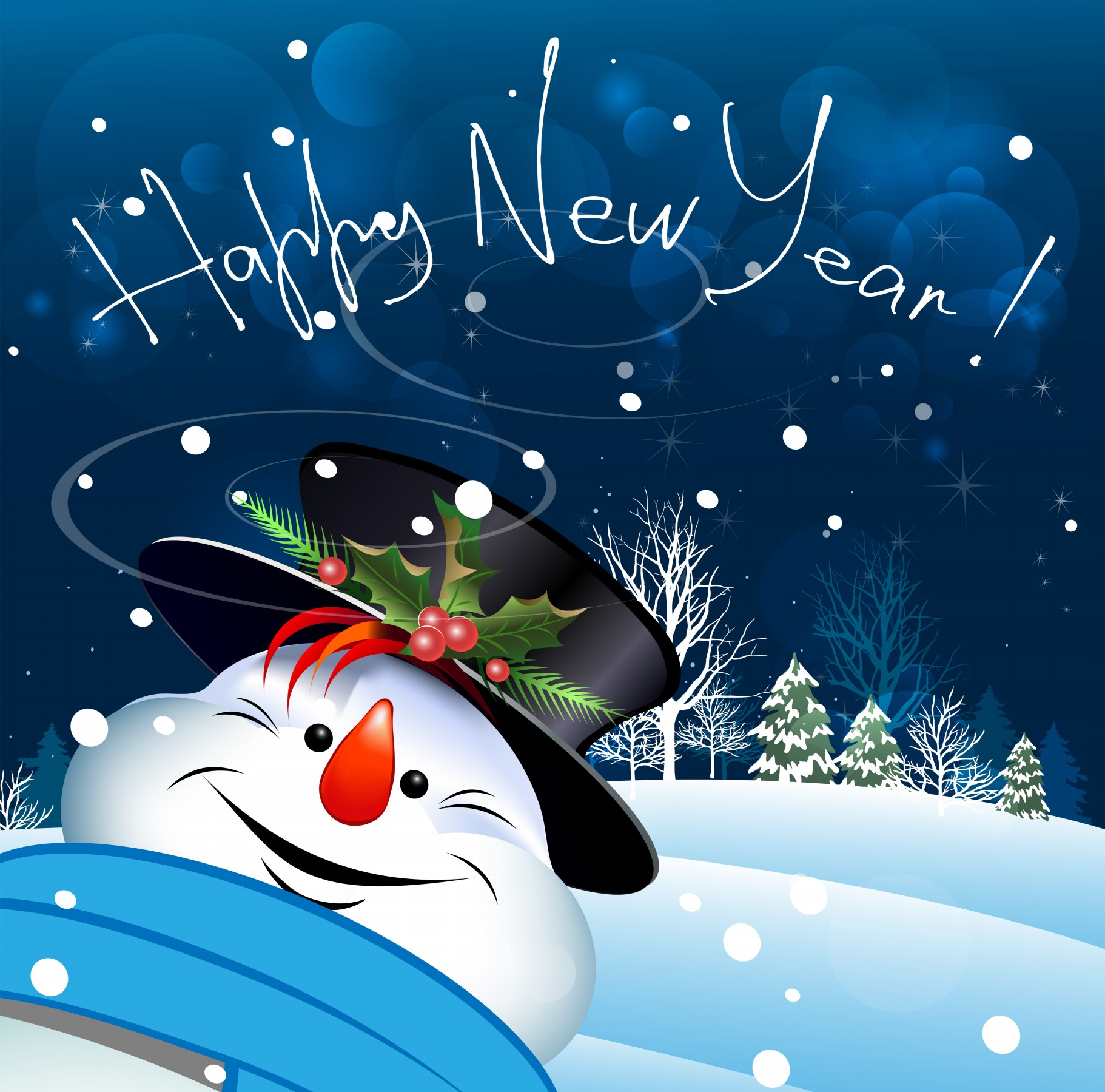 Download Happy New Year 2014 Greeting Cards Wallpaper 1822x1800