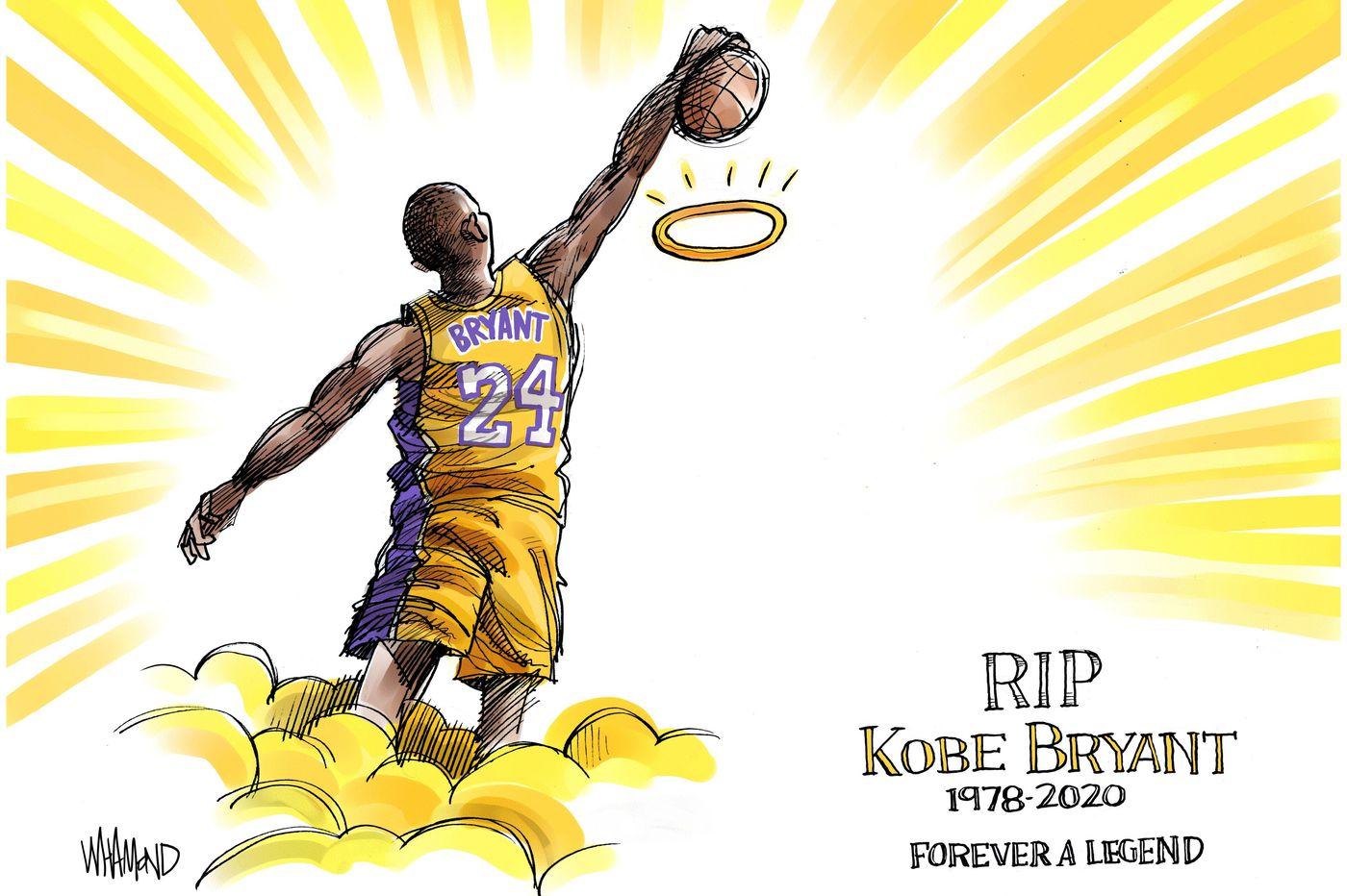 Cartoons Kobe Bryants death memorialized by artists around the 1400x932