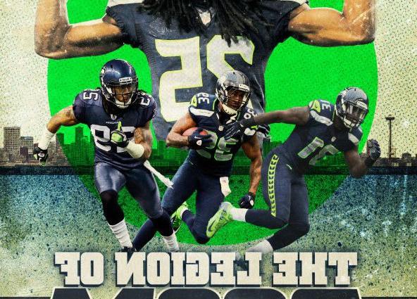 Seattle Seahawks Richard Sherman Poster 592x425