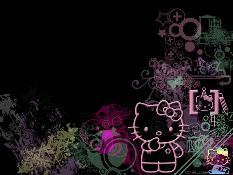 HELLO KITTY WALLPAPER CUTE hello kitty wallpaper desktop 800x600