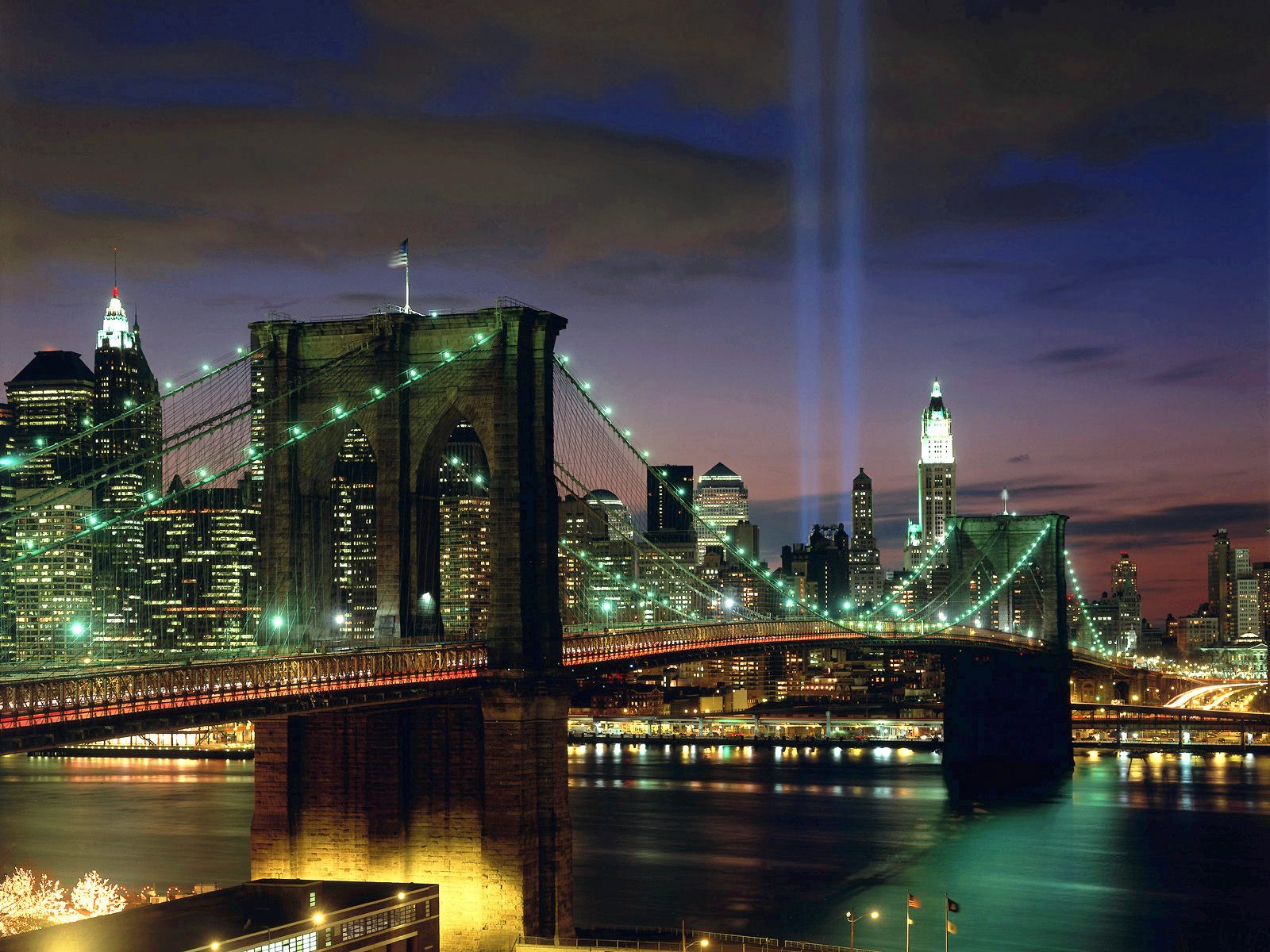 Tribute in Light New York City Wallpapers HD Wallpapers 1600x1200