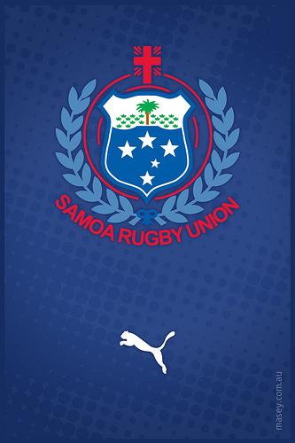Samoa Rugby Iphone Wallpaper 333x500