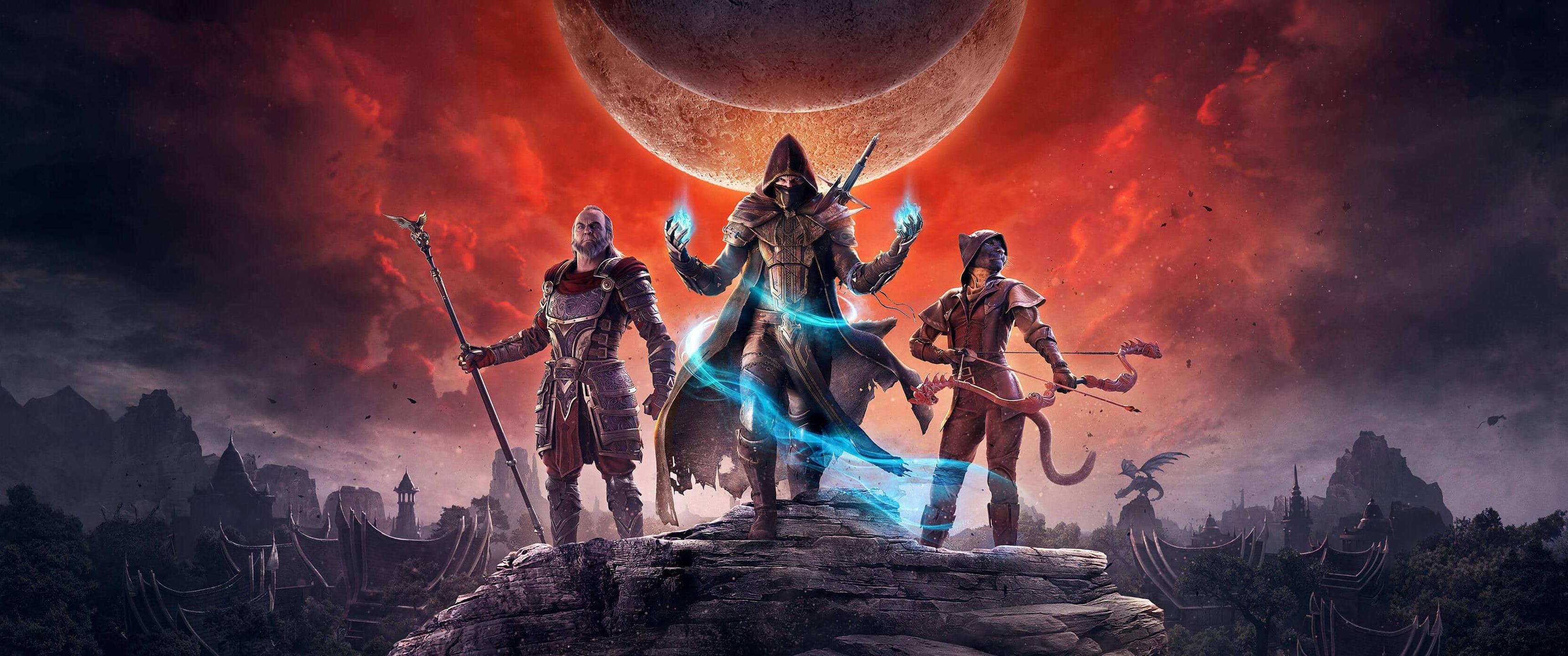 Elder Scrolls Online  Elsweyr Ultrawide Wallpaper 3440 x 1440 3440x1440