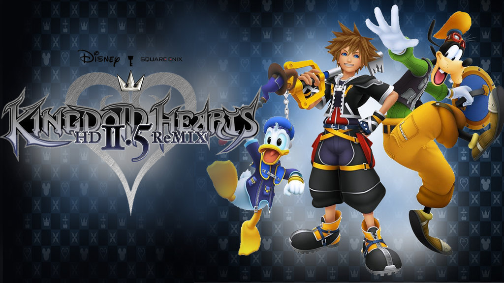 Kingdom Hearts HD 25 ReMix Wallpaper by davidsobo 1024x576