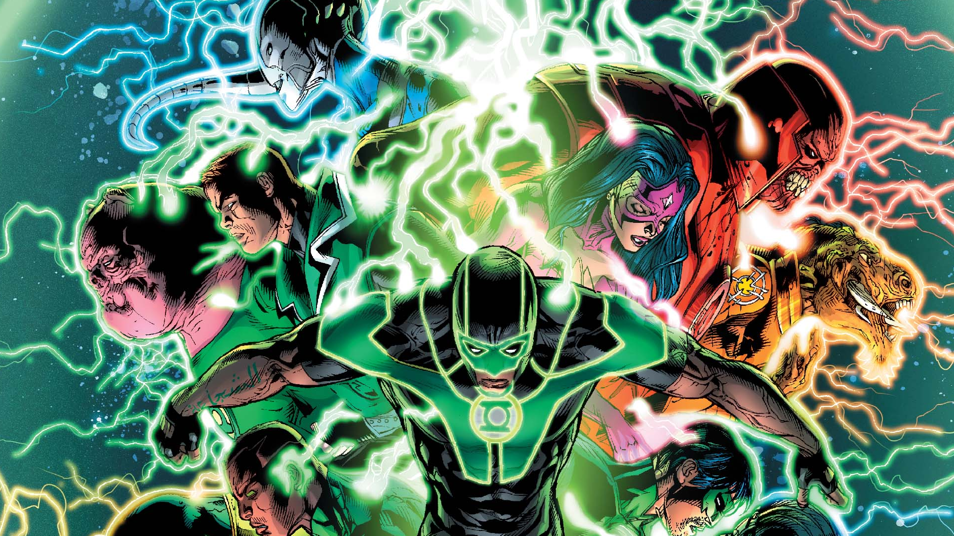 Green Lantern Wrath of the First Lantern HD Wallpaper 1920x1080