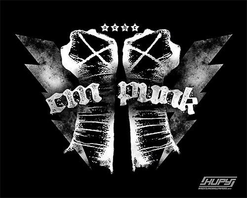 Cool Sports Players cm punk logo 500x400