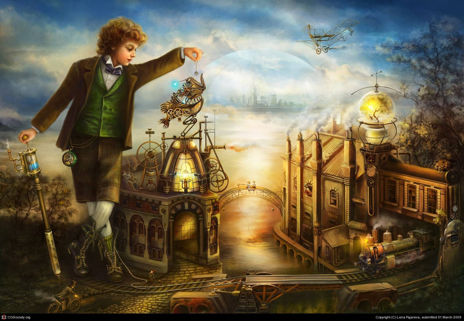steampunk wallpaper 14 anime steampunk wallpaper 15 anime steampunk 1600x1108
