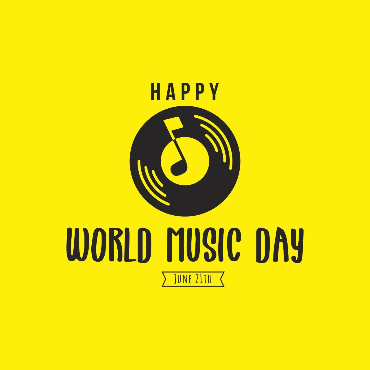 World Music Day 2020 Quotes Wishes Images Wallpapers Messages 1280x1280