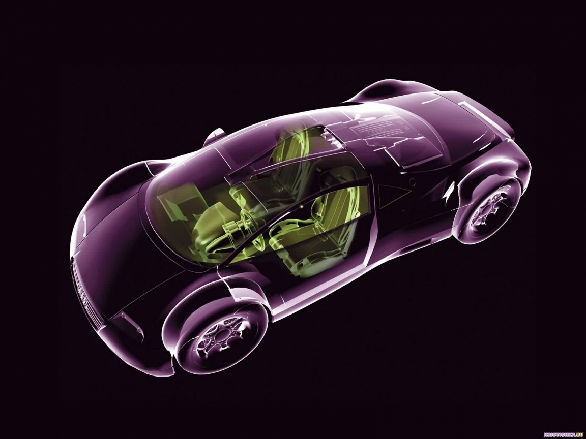 3D Car wallpaper and photo 1152x864
