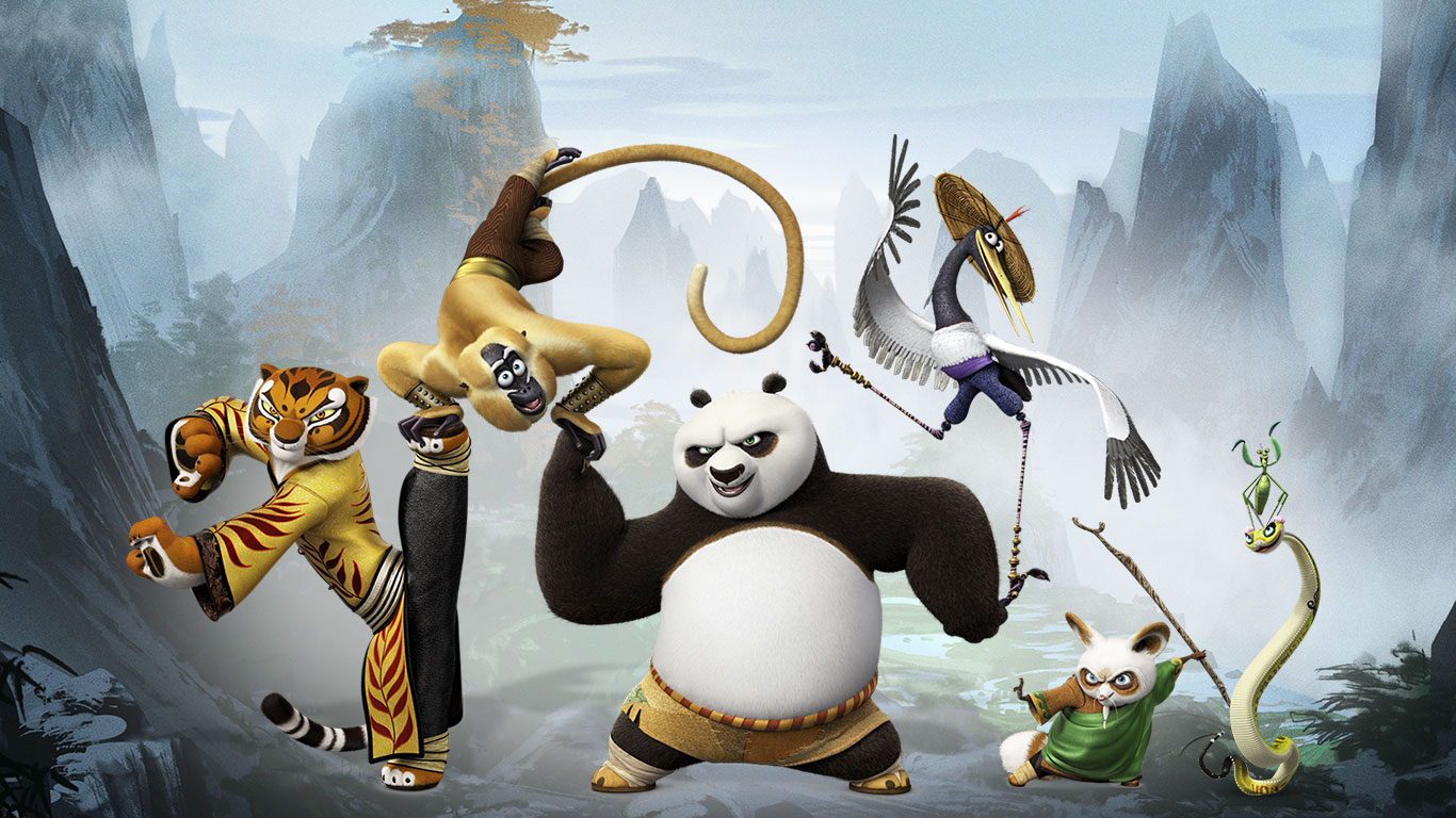 Free Download Kung Fu Panda 3 2016 Iphone Desktop Wallpapers Hd