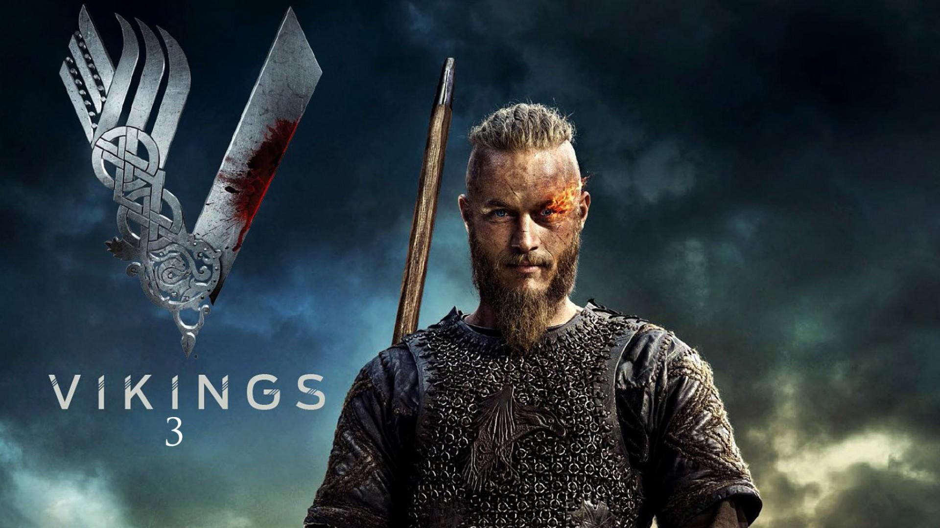 Download Ragnar Lothbrok In Vikings 3 Tv Series HD Wallpaper Search 1920x1080