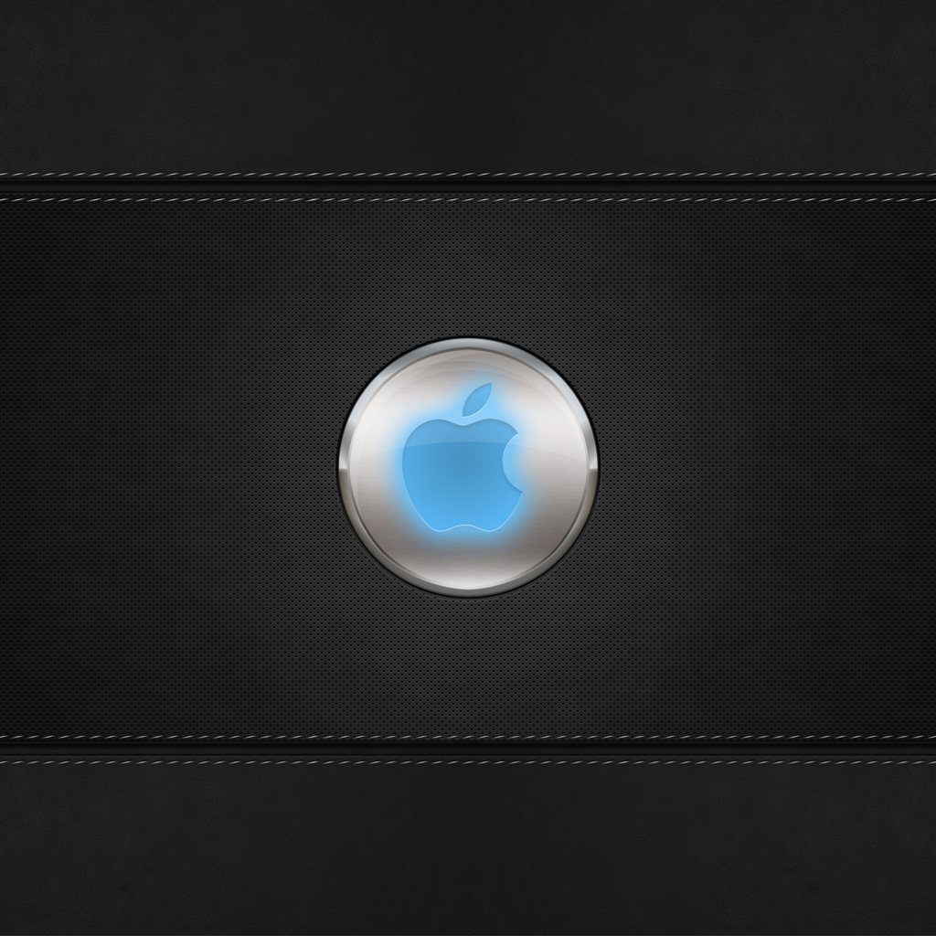 Glow Apple Logo iPad Air Wallpaper Download iPhone Wallpapers iPad 1024x1024