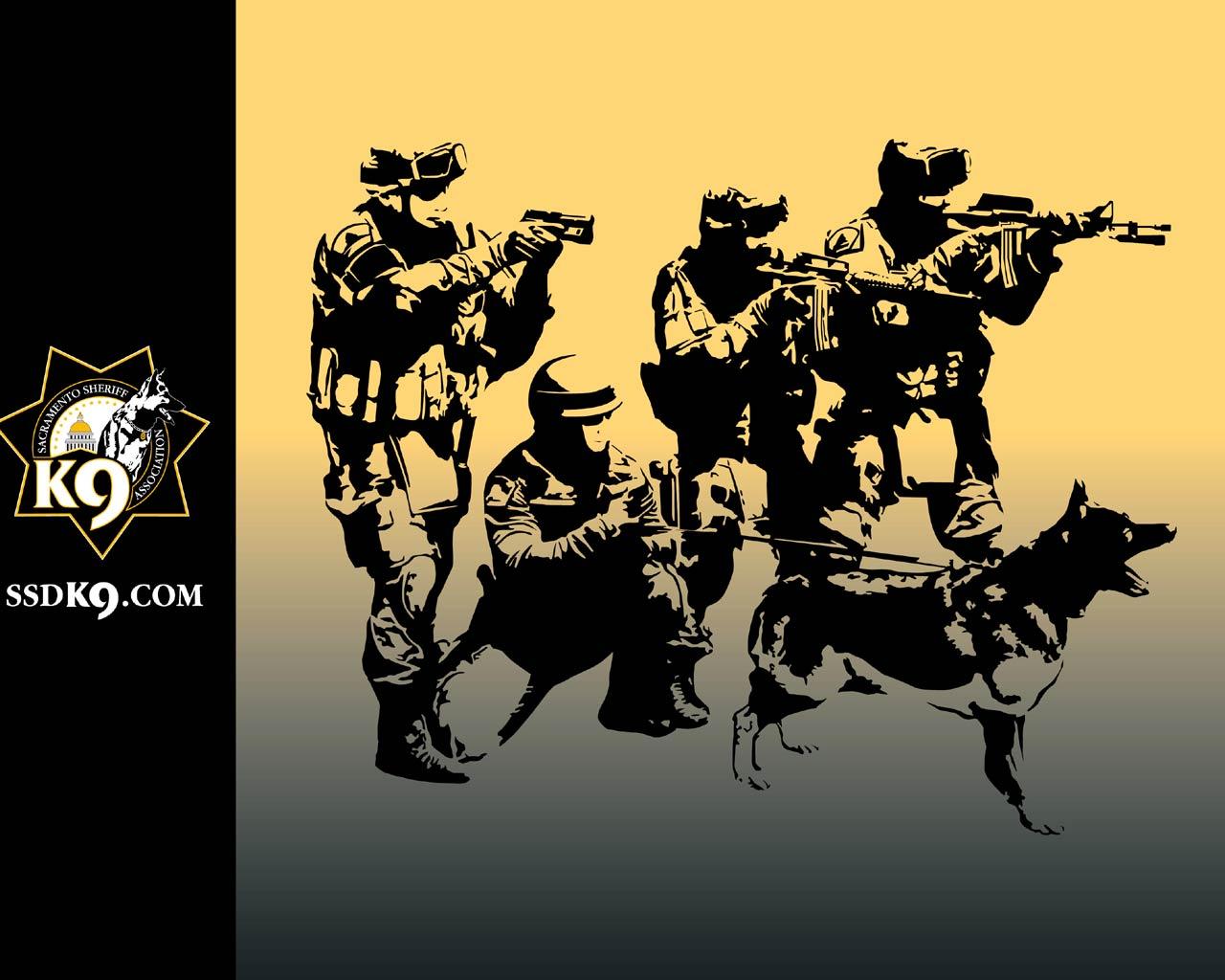 Swat Team Wallpapers 1280x1024