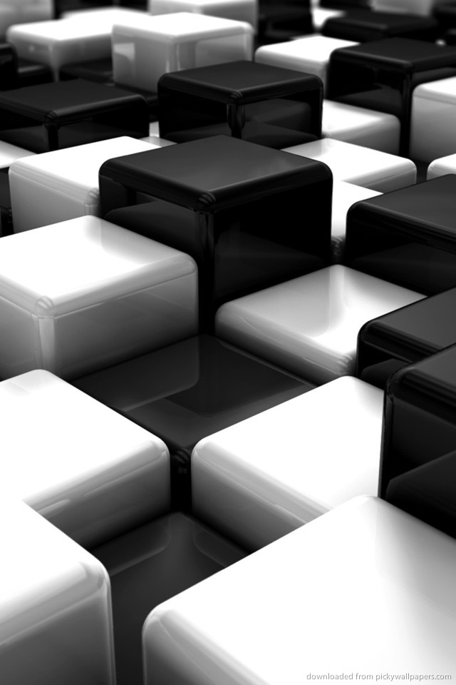 Iphone Wallpaper Black And White 640x960