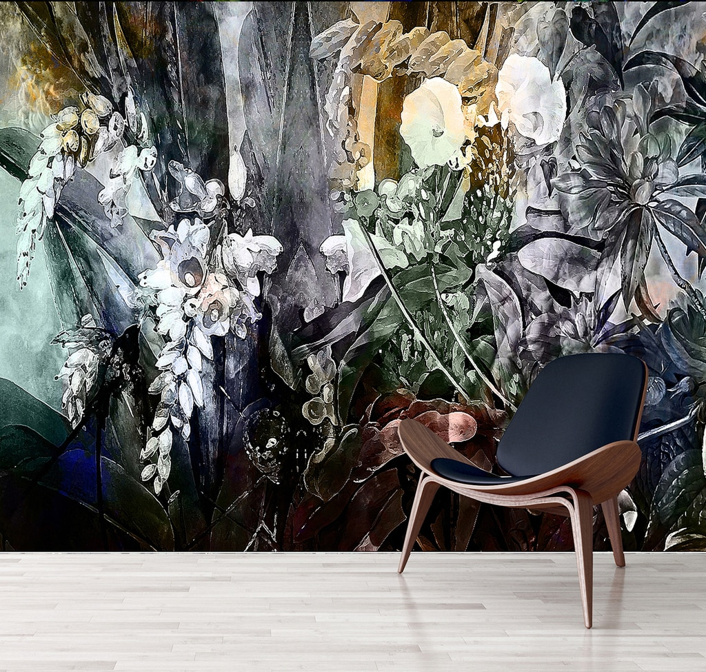 Wallpaper   Flower Power   Incandescent   Kerrie Brown 1024x975