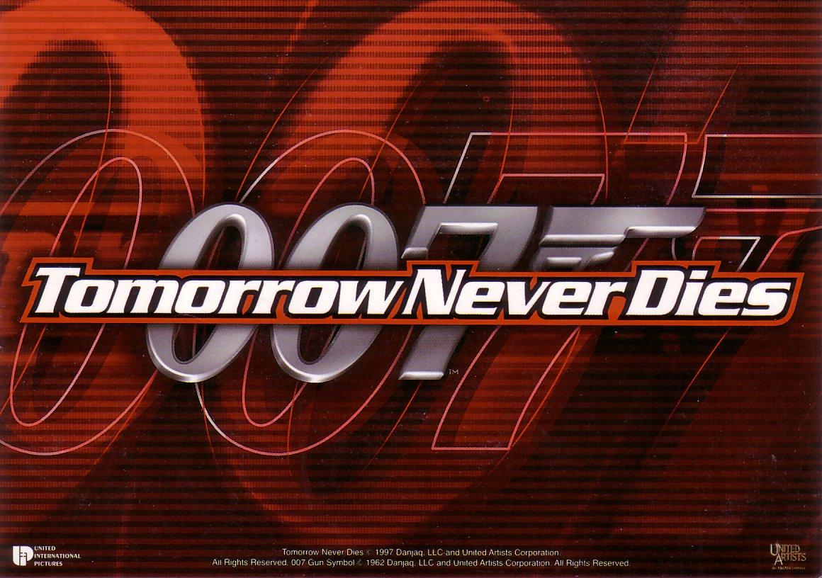 004 Tomorrow Never Dies wallpaper 007 logo 1160x816