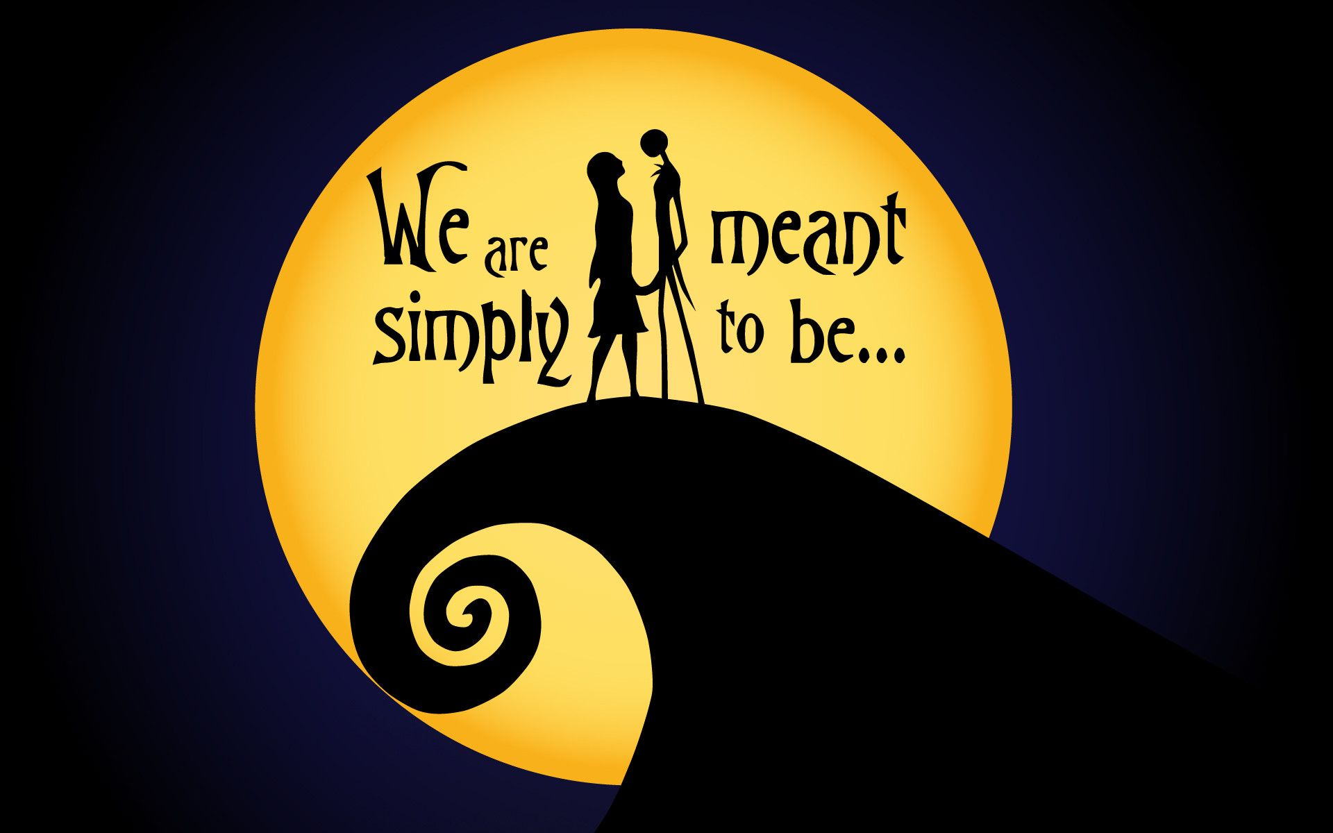 Jack and Sally Wallpapers   Top Jack and Sally Backgrounds 1920x1200