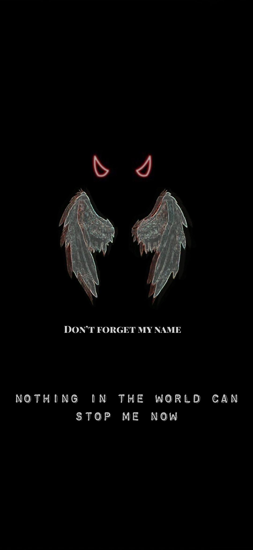 Angels and Demons Wallpaper Cute black wallpaper Emo wallpaper 1080x2340
